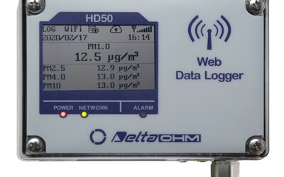 Delta Ohm HD50PM particulate monitor and logger