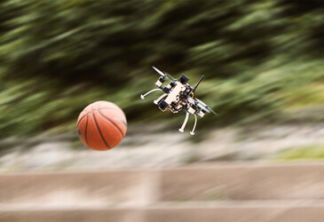 Faster reaction time helps drones dodge obstacles