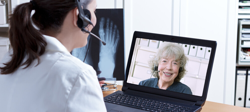 The role of video and audio tech in health care