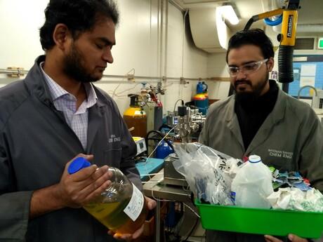 Monash develops resource recovery process for spent plastics