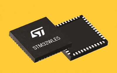 STMicroelectroelectronics STM32WL SoC with QFN48 package