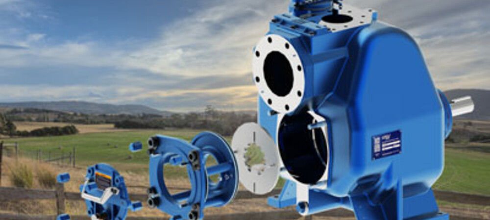 Abattoir upgrades pump to handle paunch material