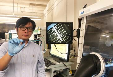 Organic field-effect transistors successfully miniaturised