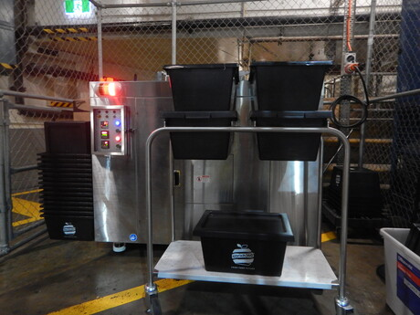 Sydney office towers fight food waste