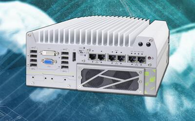 Neousys Nuvo-7166GC-T4 ruggedised AI inference platform