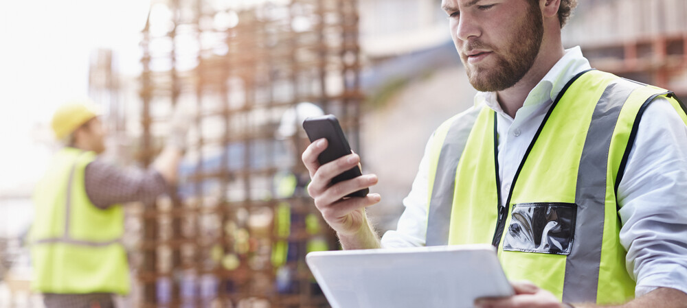 App ups construction contractor onsite safety