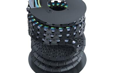 igus twisterband HD energy chain