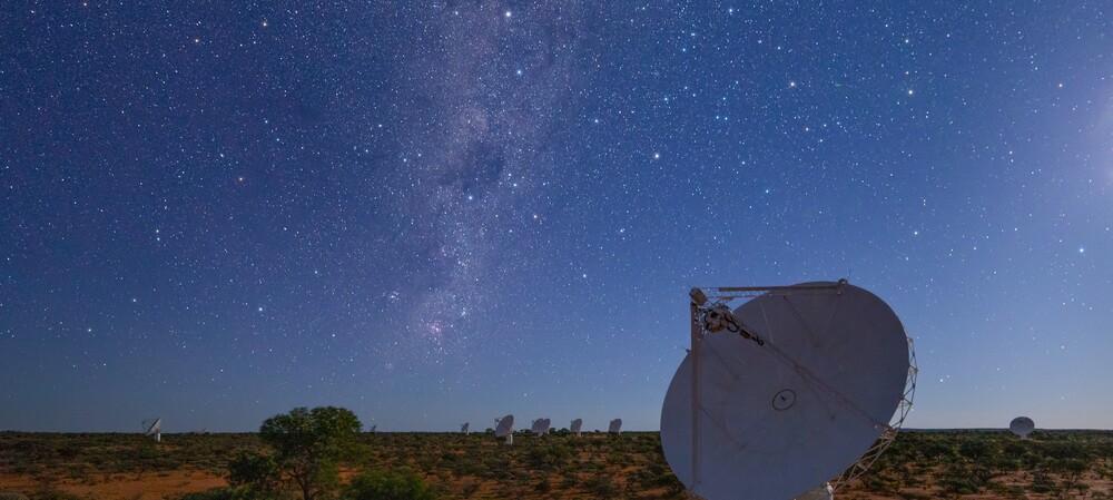 CSIRO telescope surveys the Southern Sky in record time
