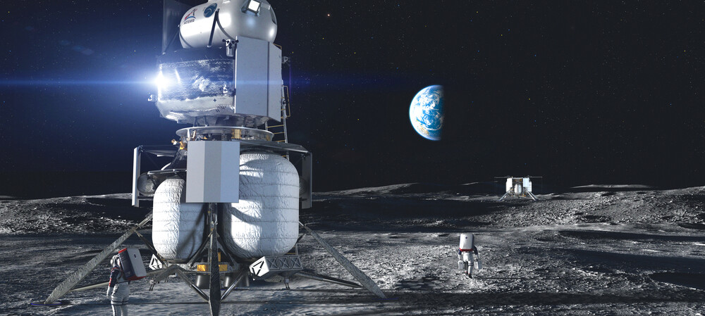 Sending LTE to the Moon