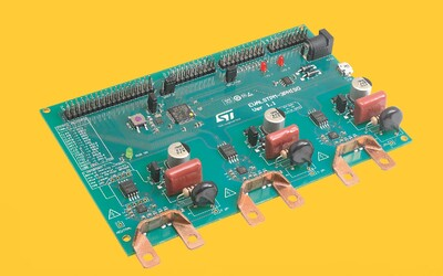 STMicroelectronics EVALSTPM-3PHISO energy-meter evaluation board