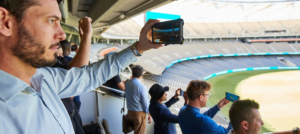 Optus Stadium outfitted with 5G connectivity