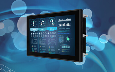Winmate 19″ stainless steel multi-touch display