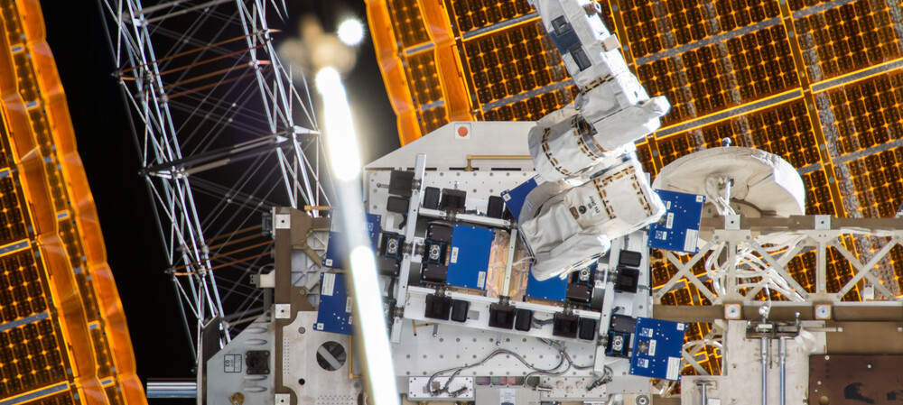 Additively manufactured RF circuit sent into space