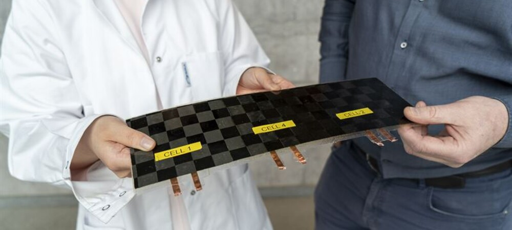 Structural battery could enable 'massless' energy storage
