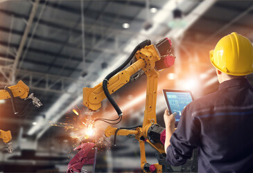 Support services for factory, logistics and process automation