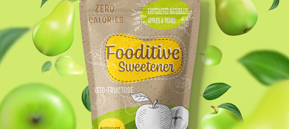 Natural sweetener created by upcycling fruit waste