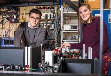 Researchers establish an entanglement-based quantum network