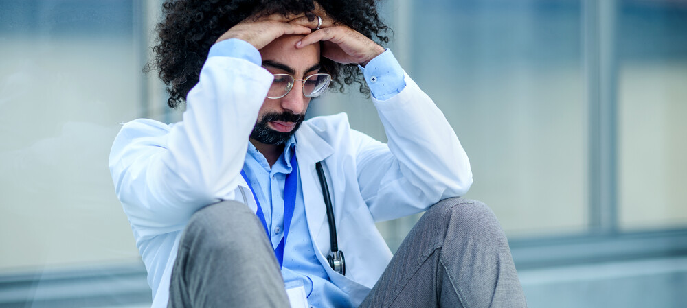 More than half of Australian nurses and doctors feel burned out