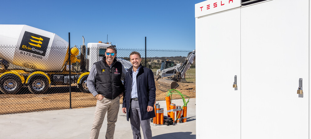 Large-scale commercial battery for Canberra