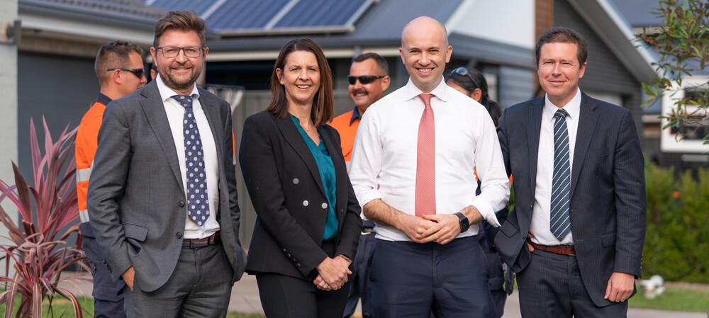 Smart solar power hub heats up