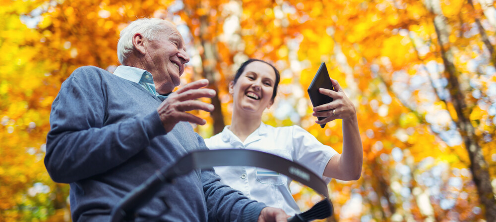 What technologies are having an impact in aged care?