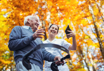Putting people at the centre of aged care means investing in technology