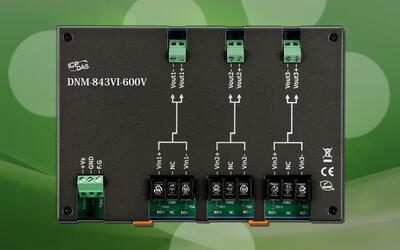 ICP DAS DNM-843VI-600V voltage attenuator