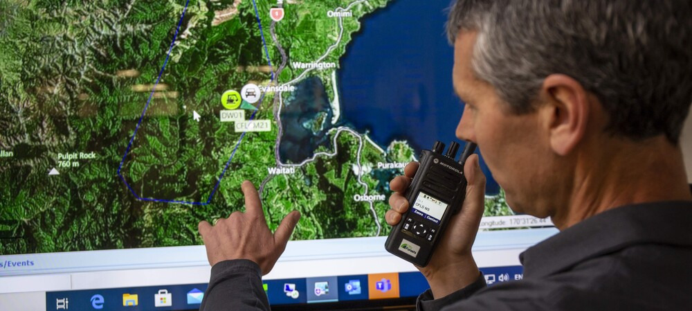 Otago forest workers update radios to keep safe in 7 million-tree forest