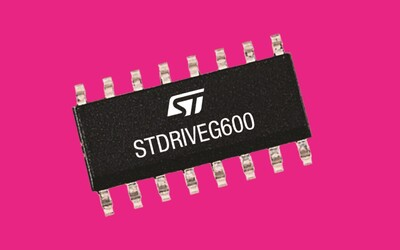 STMicroelectronics STDRIVEG600 half-bridge gate driver