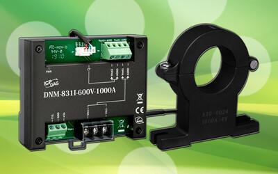 ICP DAS DNM-831I-600V-1000A voltage attenuator and current transformer