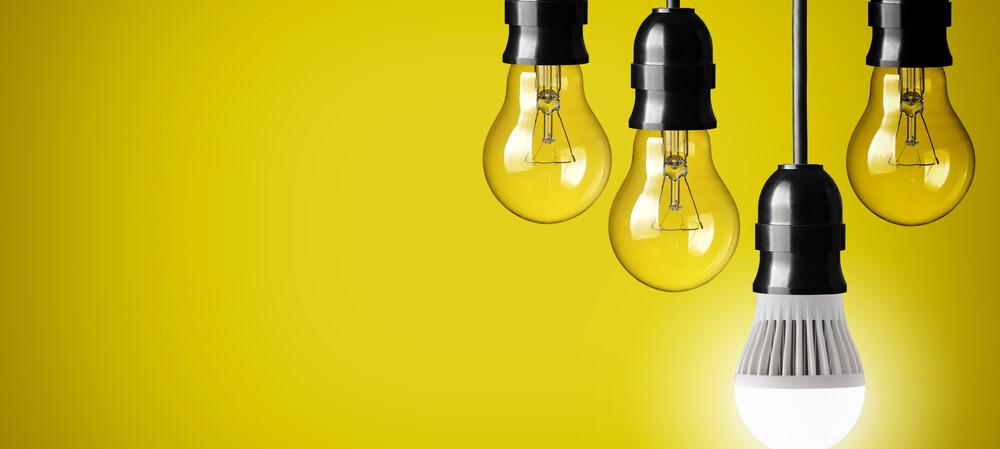 Using wooden floors to power LED lightbulbs