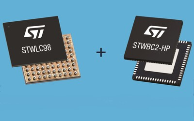 STMicroelectronics STWLC98 and STWBC2-HP high-power chipset
