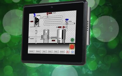 iEi PPC-F08B-BT fanless industrial panel PC