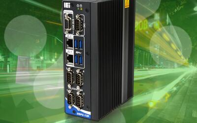 iEi DRPC-130-AL fanless DIN-rail embedded system