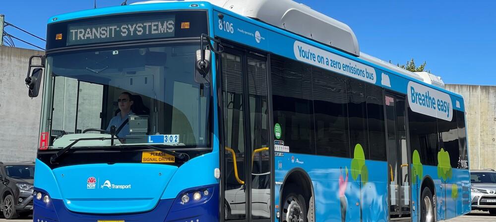 Race to zero: $36m electric bus pilot takes off